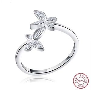 Silver 925 Ring with AAA Austrian Cubic Zirconia